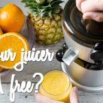 bpa free juicer
